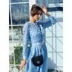 Блакитна сукня з гіпюру 77-381-748-126